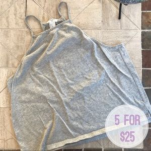 Gray Crop Top • Size M